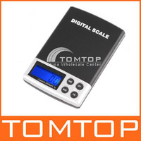 Wholesale 2000g g LCD display digtal pocket electronic scale H1794 blue backlight
