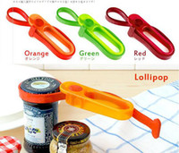 Wholesale Hands Free Kitchen Tools Multi Can Opener bottle opener Easy Jar Opener Lollipop