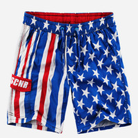 american flag shorts for men - new american flag swim shorts beach shorts for men plus size male quick drying sports capris casual cotton knee length