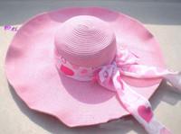 Wholesale straw Hat fashionable folding Sun hat beach hat