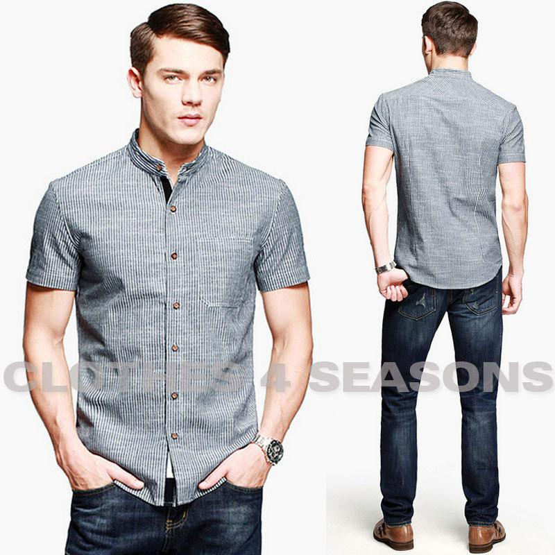 Online cheap wholesale vintage china wind men shirts brand for Cheap slim fit shirts