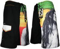 Cheap Wholesale-New 2015 Gym Men Shorts Swimwear Board Shorts Boardshorts Bermudas Mens Surf Shorts Beach 2 Color