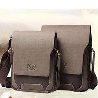 Wholesale Brand New Men Messenger Bags Genuine Leather POLO Bags laptop Briefcase Travel Bags Business Bags