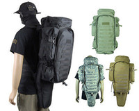 Wholesale Outdoor Tactical Full Gear Rifle Combo Backpack Multi Camo