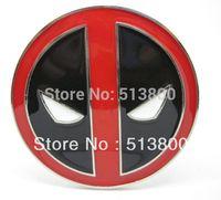 Wholesale Free DHL shipping Deadpool logo belt buckle