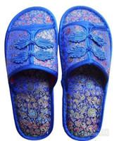 plastic slippers - Silk Women s Slipper Indoor Slippers Hotel Slipper China Slipper plastic Bottom Slipper pair Free