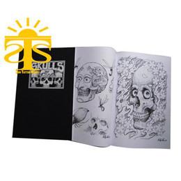 Wholesale tattoo book Skulls by Filip Leu popular design skull design popular design high quality good