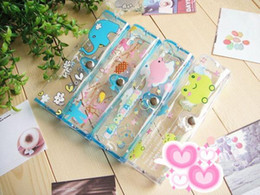 Wholesale cartoon transparent glasses Case glasses Box Cute case pc