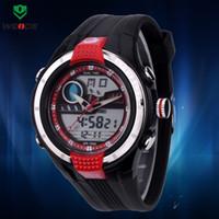 Cheap Wholesale-Hot Sale Diving Watch Popular Trendy analog-digital dual display Multifunction sports watch men's watch JAPAN movement Watch