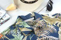 aloha wear - Cotton Aloha Shirt Short Sleeved Shirt Cotton Hawaiian Beach Wear Shirt Retail and Mix Order