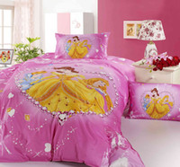 baby comforter knitted - cotton printed princess baby single bed bedding set bed sheet quilt cover pillowcase