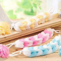 bath bar - explosion sell soft and comfortable nylon mesh strip rub strip bath towel bath ball bath scrub bar