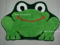 acrylic bath mats - Brand New Lovely Green Flog Bath Mats amp Rugs L2206 and Retail