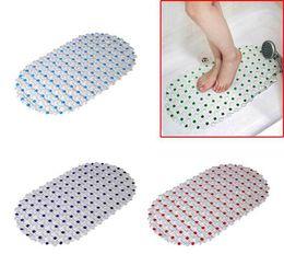 Wholesale bath mat anti slip bath mat protection bath mats Bathroom Safety antimicrobial Bath Shower Mat with Non slip Suction