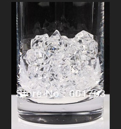 2017 tableau acrylique clair 180pcs-Wholesale Wedding EFFACER Acrylique Crystal Rock Ice Confetti Table Scatter Vase Filler - 25 * 18MM Douze-Étoile peu coûteux tableau acrylique clair
