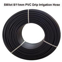 Wholesale M mm High Quality Non toxic PVC Home Garden Greenhouse Micro Drip Irrigation Hose Watering System Fittings Water Pipe