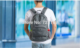 Wholesale-New Nylon Back Pack Women Men Travel Bags Schoolbags Outdoor&Sports Free Shipping
