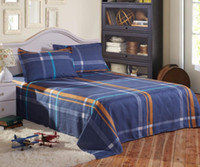 Cheap Wholesale-freeshipping brand printed bedsheet bed linen   bedding sheet 6 size