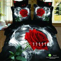 Wholesale Cotton Bedding set King size bedclothes D bedding set luxury Duvet quilt cover set