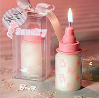 baby creativity - Children birthday gift Wedding candle birthday candle creativity candle Smokeless candle Baby shower favors