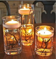 Wholesale New arrival quot Round Floating Candle Disc For Wedding Party Events Home Table Decoration