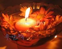 Venta al por mayor-Libre 50 PC / porción sin humo Ronda Vela Flotante Portacandelitas para la boda del cumpleaños de Navidad La quema de 3 horas 26