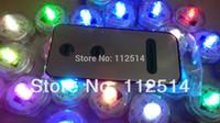 assorted tea - Remote Control Assorted Colour Submersible LED Tea Light Candle