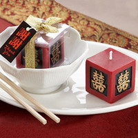 art deco boxes - Art Candles in Box mix order accepted wedding gift home deco China classic style candles for wedding