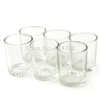 Wholesale quot H GLASS VOTIVE CANDLE HOLDER IN CLEAR USD34 FOR EACH USD1