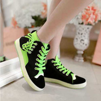 Cheap Wholesale-Big Sale Charming Girls Lace Up Mixed Color Flat Heel Sneakers Popular Massage Spring Fall Casual Footwear Female Shoes