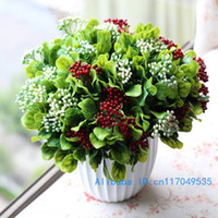 beautiful berry - Beautiful Plastic Flower Artificial Christmas fruit Berry Home Decoration Colors Available F23