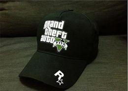 Wholesale Grand Theft Auto V Game Cap for Game Player GTA V caps for men women baseball caps for men women