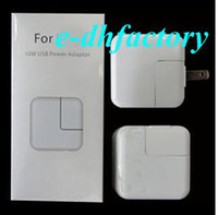Wholesale US plug W USB Power AC Adapter wall charger for Ipad in retail package white DHL