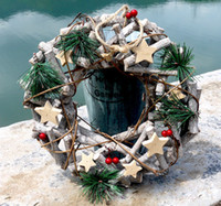 artificial outdoor wreaths - nature wood dried branches cm wreath DIY accessories wedding Home Party outdoor Decoration Artificial Flower christmas wreath