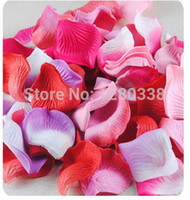 bedded or wedded - PC Silk Rose Flower Leave Pieces Wedding Occassion Bed or Other Party Events Favour Flower Decoration Hotsale