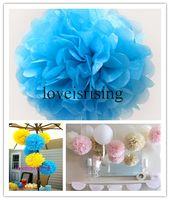 aqua tissue - cm quot Aqua Blue Tissue Paper Pom Poms Wedding Bridal Shower Favors Decor For Room Decor Colors You Can
