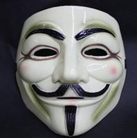 horror masks - anonymous masks v vendetta men guy fawkes halloween horror Venetian mascara anonimos assustadoras mardi gras masks