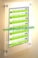mounted photo frames - Pack Units A3 Wall Mounted Plexiglass Poster Frames Prints For A3 Posters Picture Photos