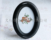 antique wooden frames - Very Nice Home Decorative inch Black Oval shaped Antique Wooden Photo Frames