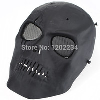 bb guns games - NEW Skull Skeleton Army Airsoft Paintball BB Gun Full Face Game Protect Safe Mask fancy party masks