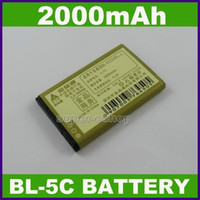 Wholesale 5pcs mAh BL C Battery For Nokia E60 N70 N72 N91