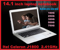 Wholesale 14 inch Dual Core laptop tablet pc DDR3 GB TO GB GB TO GB Win7 win Air Book D2500 J1800 Notebook Computer PC ultrabook laptops