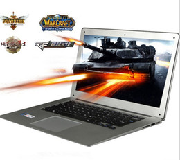 Wholesale - 2016 NEW Arrival 14.1 inch ultrabook slim laptop computer Celeron J1800 2.41GHz 4GB 750GB WIFI Windows 7 Webcame laptop notebook