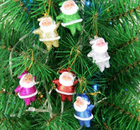 christmas decoration santa claus - Funny Christmas Tree Ornament Decorations Santa Claus Pendant Indoor New Year Party Hanging Festa Natal Decoration