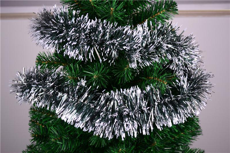 Wholesale christmas decoration tree tinsel home