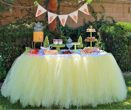 wholesale pink table tutu perfect for birthday party baby shower bridal shower or wedding table other
