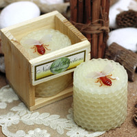 bee homes - pc Child birthday party supplies birthday candle bee candles smokeless beeswax candle small candles home deco