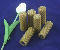 beeswax candles rolled - beeswax hand roll up diy candle creative rolled pillar votive candle cm