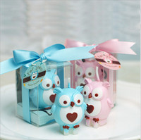 baby shower novelties - Novelty Birthday Lovely Candles Baby shower favors owl candle gifts wedding party decoration