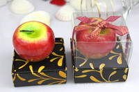apple gift shop - Neeka shop wedding favor Tempting Apple Candle in gift Box christmas outdoor decoration Birthday